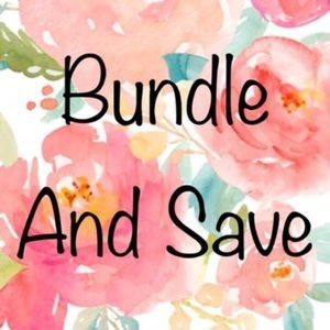 Bundle bundle bundle for major discounts!